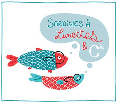 Sardines à lunettes